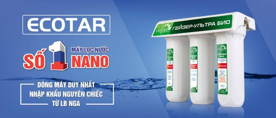 Nano Geyser Ecotar 4 là loại sản phẩm được sản xuất riêng cho nguồn nước Việt Nam.